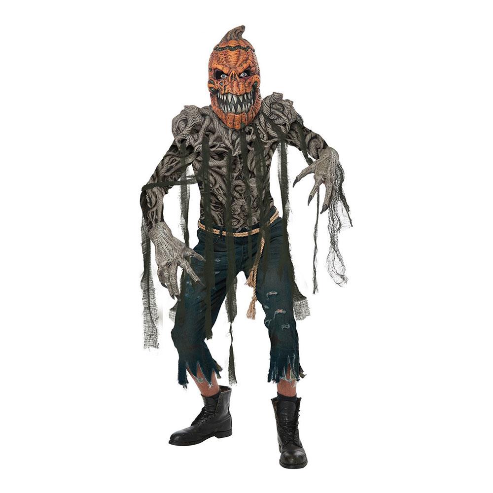 Läskig Halloweenpumpa Maskeraddräkt - Small