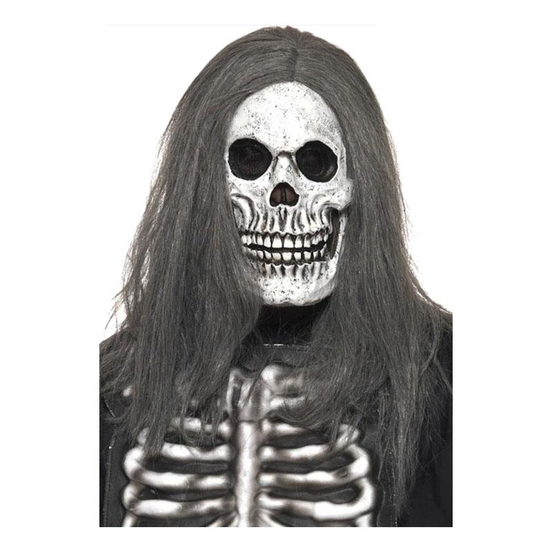 Läskig Skelettmask - One size