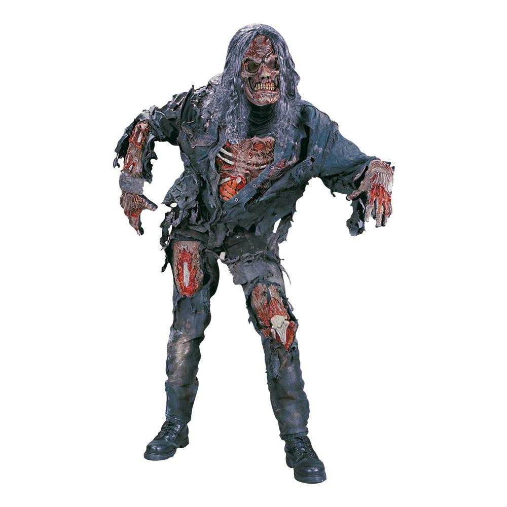 Läskig Zombie Maskeraddräkt - One size