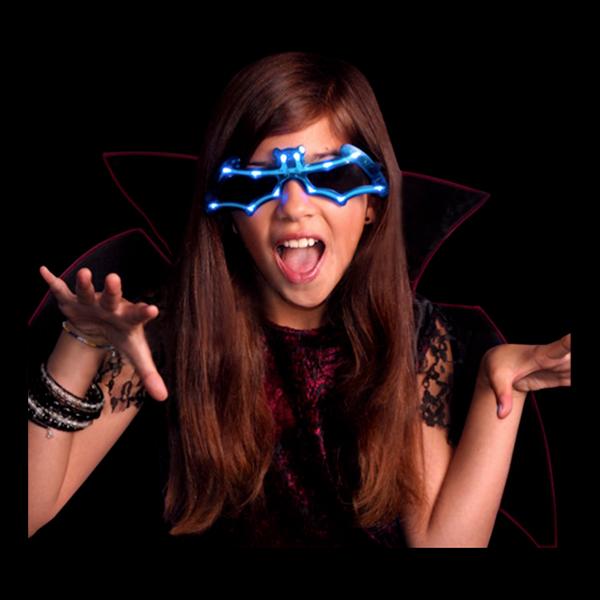 LED Glasögon Fladdermus
