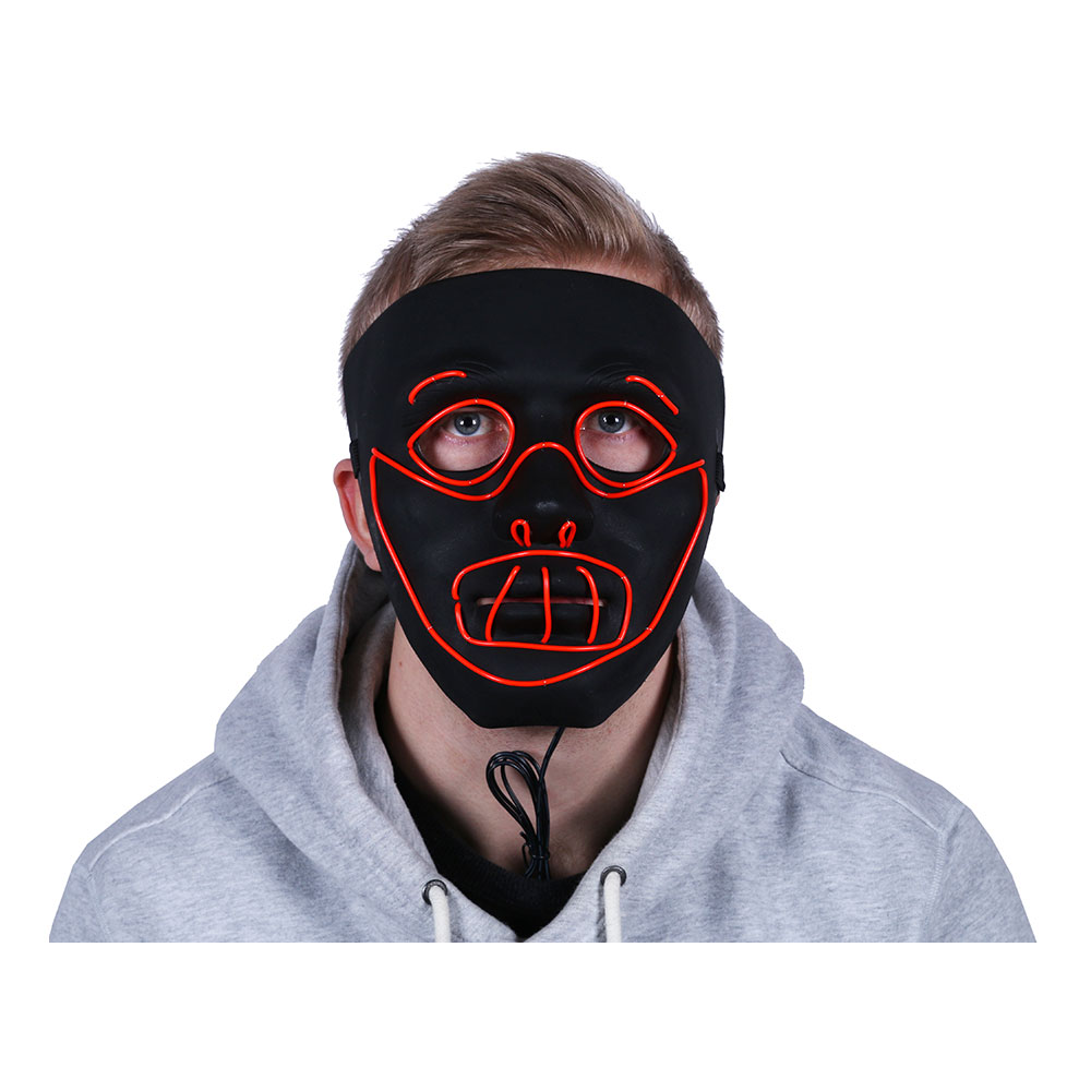 LED-Mask Hannibal - One size