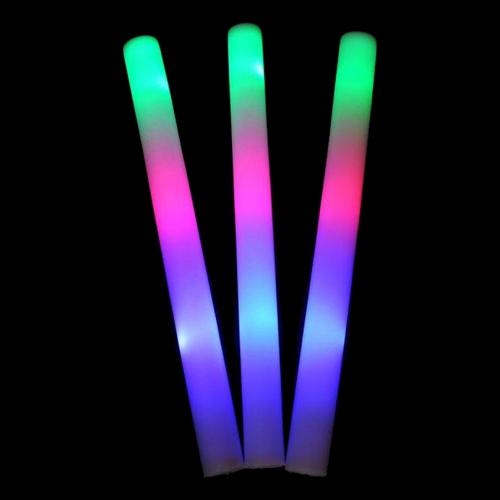 LED Skumstavar - 10-pack