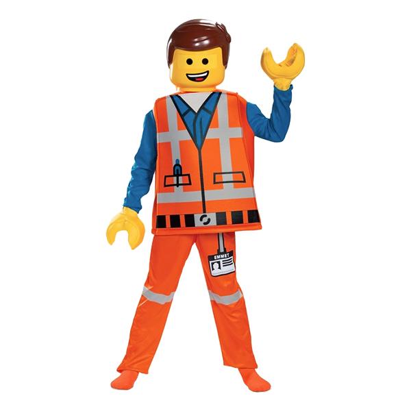 LEGO Emmet Deluxe Barn Maskeraddräkt - Small