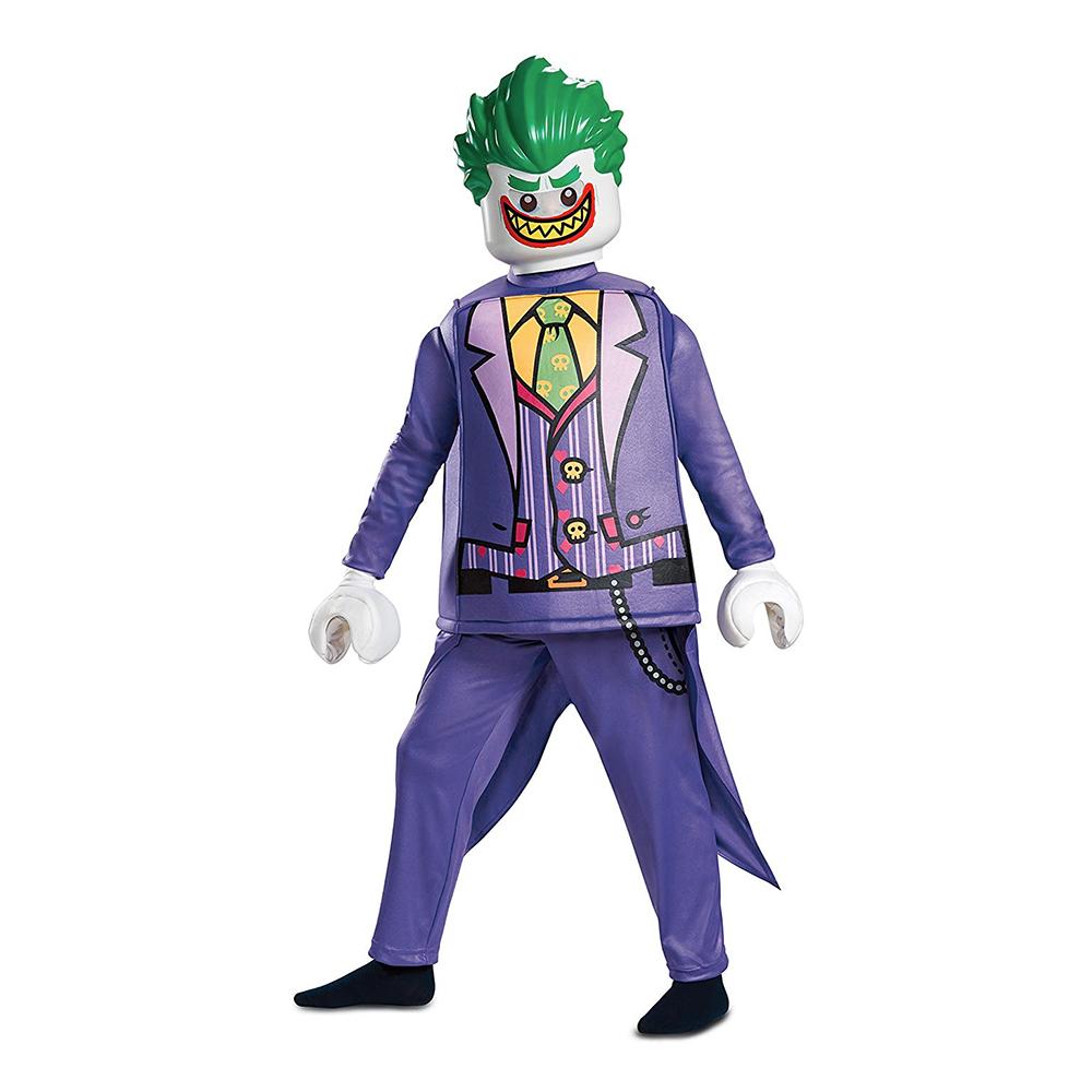 LEGO Joker Deluxe Barn Maskeraddräkt - Small