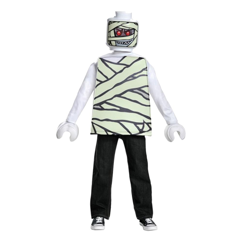 LEGO Mumie Barn Maskeraddräkt - Medium