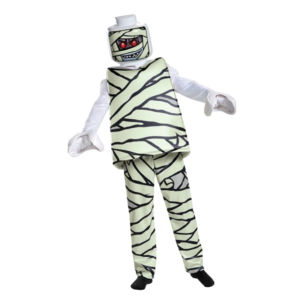 LEGO Mumie Deluxe Barn Maskeraddräkt - Small