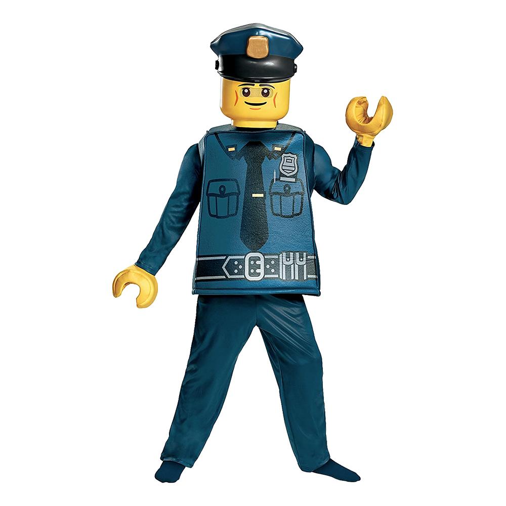 LEGO Polis Deluxe Barn Maskeraddräkt - Small