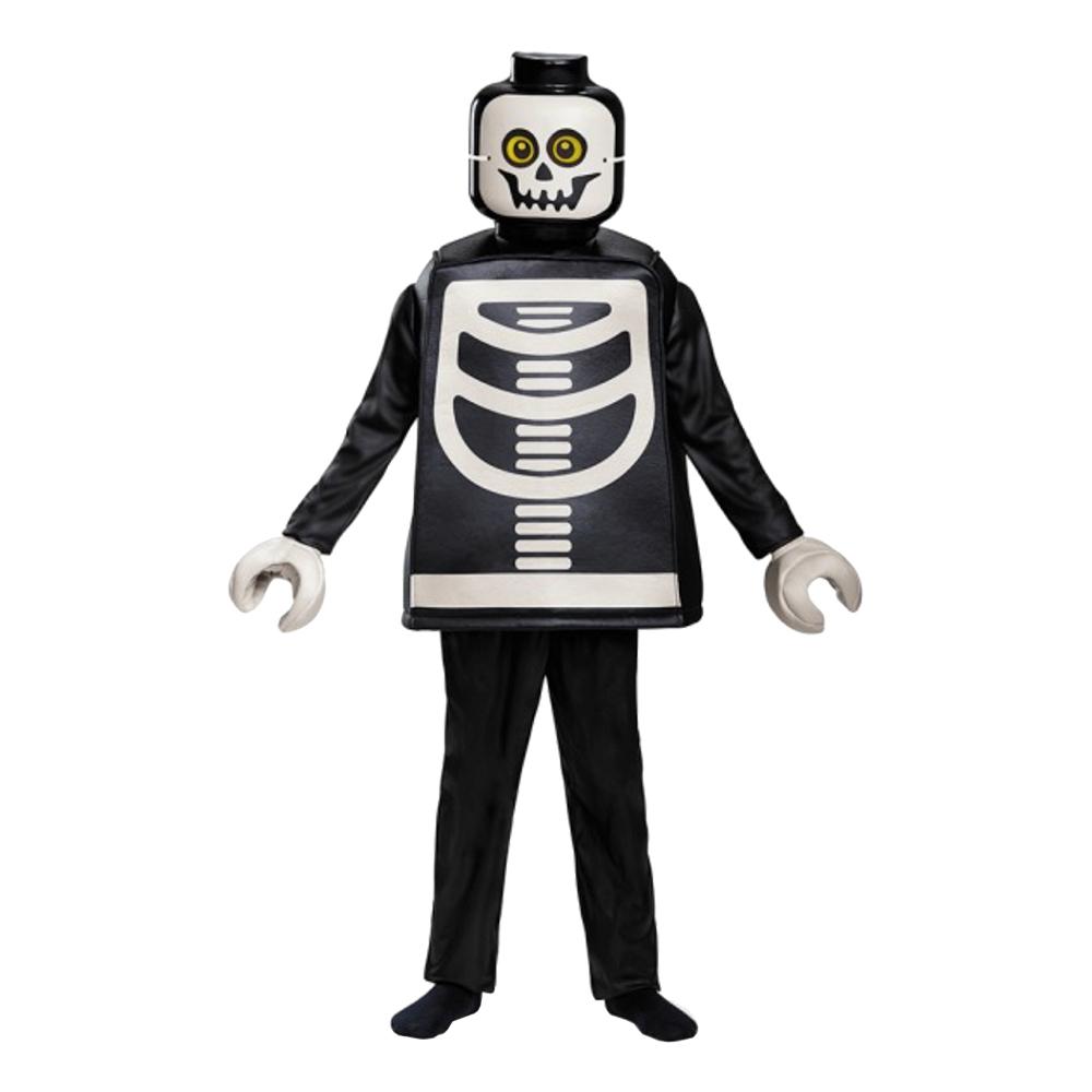 LEGO Skelett Deluxe Barn Maskeraddräkt - Small