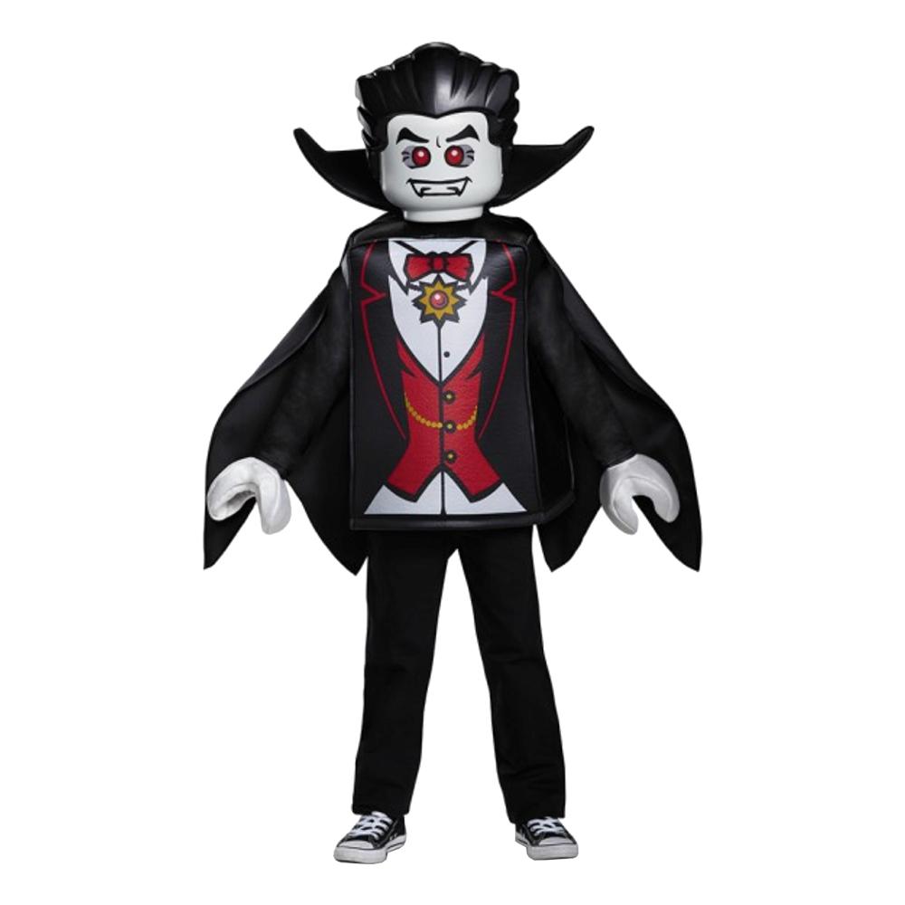 LEGO Vampyr Barn Maskeraddräkt - Medium