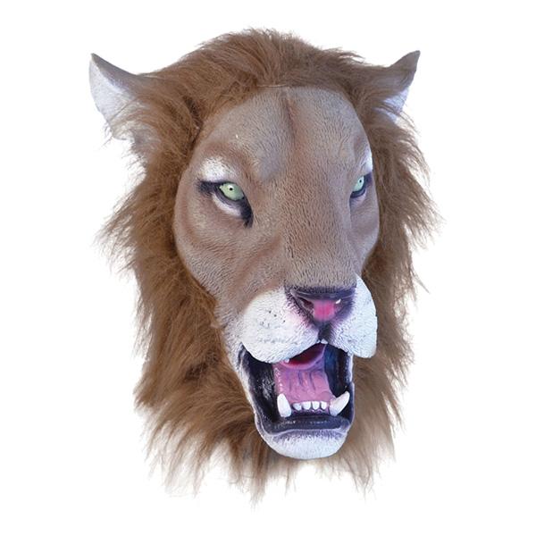 Lejonmask i Gummi - One size