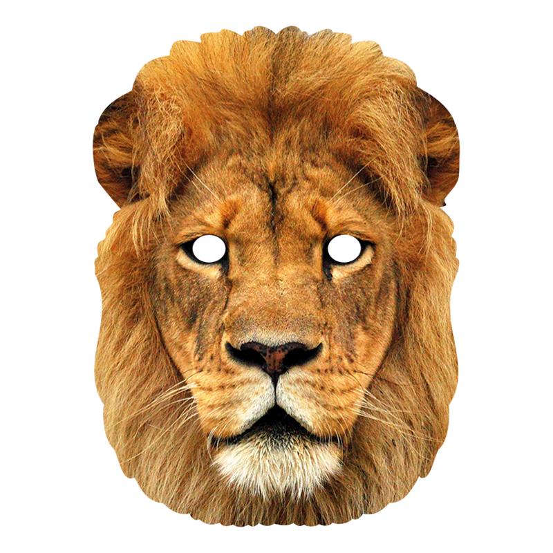 Lejon Pappmask