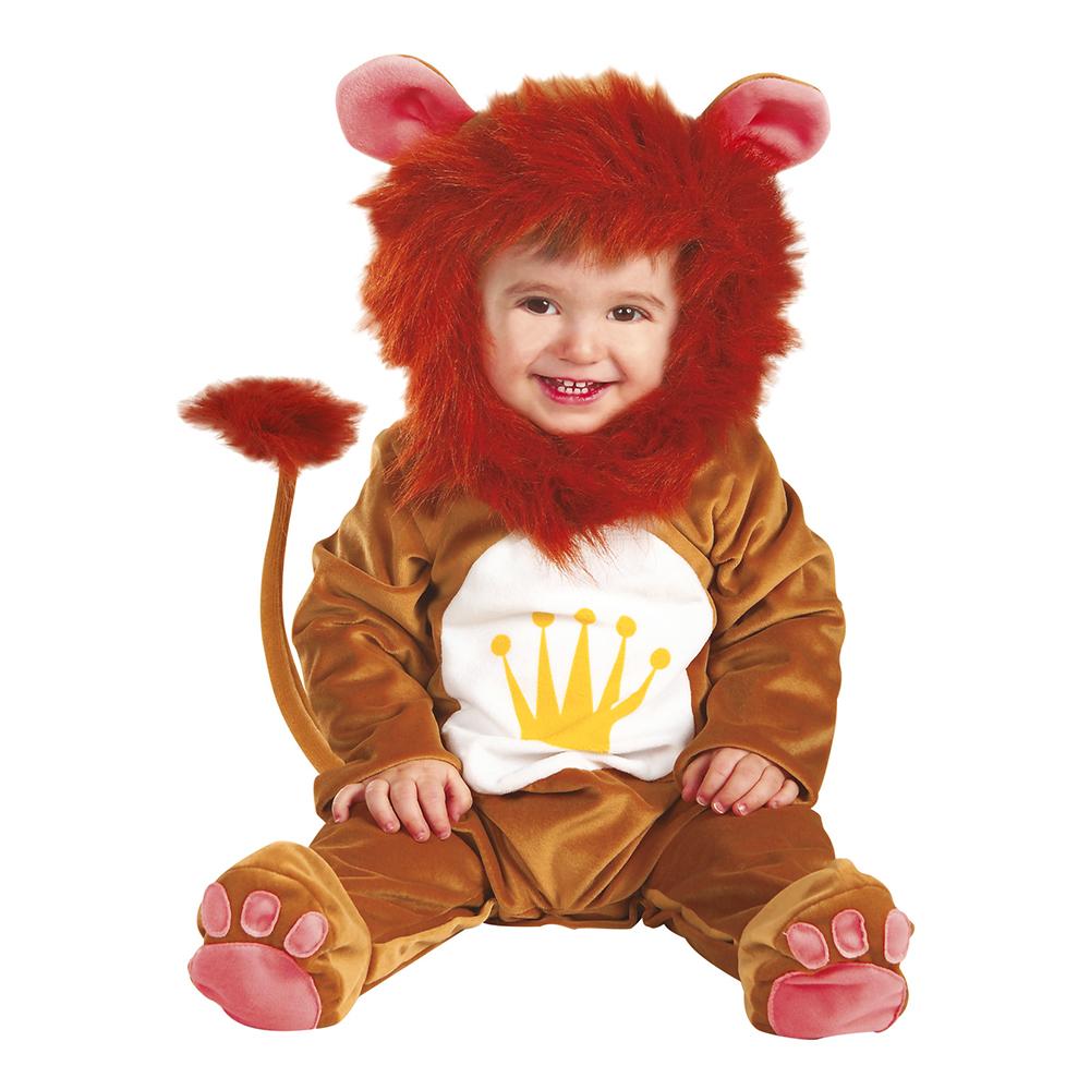 Lejonkung Bebis Maskeraddräkt - One size