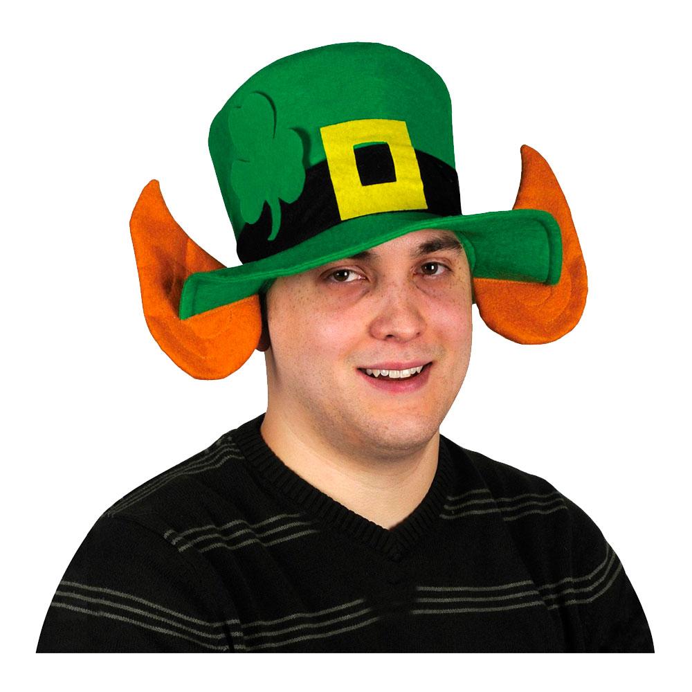 Leprechaun Hatt med Öron