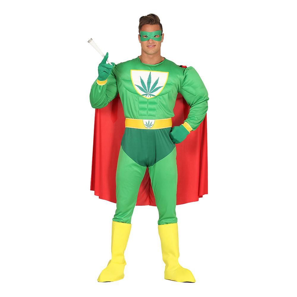 Liberal Superhjälte Maskeraddräkt - Medium