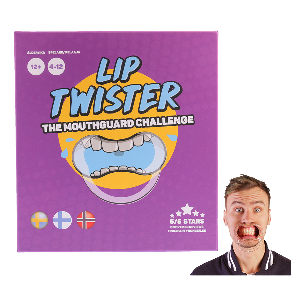 Lip Twister Mouthguard Challenge - Spelet