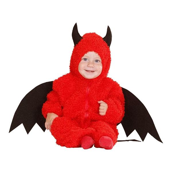 Little Devil Bebis Maskeraddräkt - Small