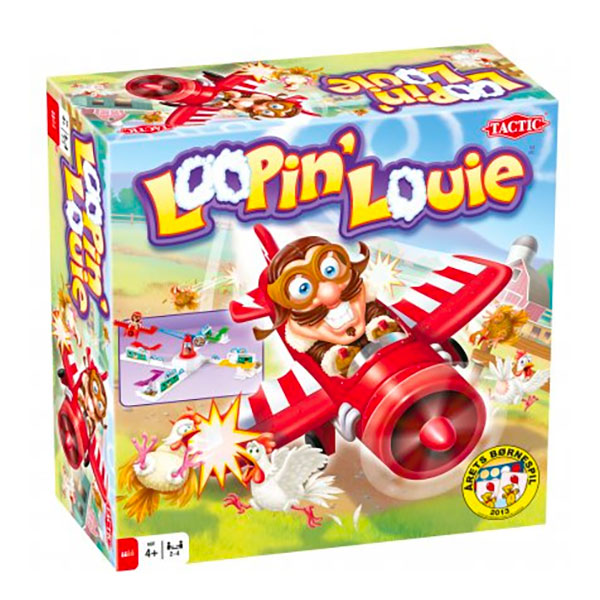 Loopin Louie Barnspel