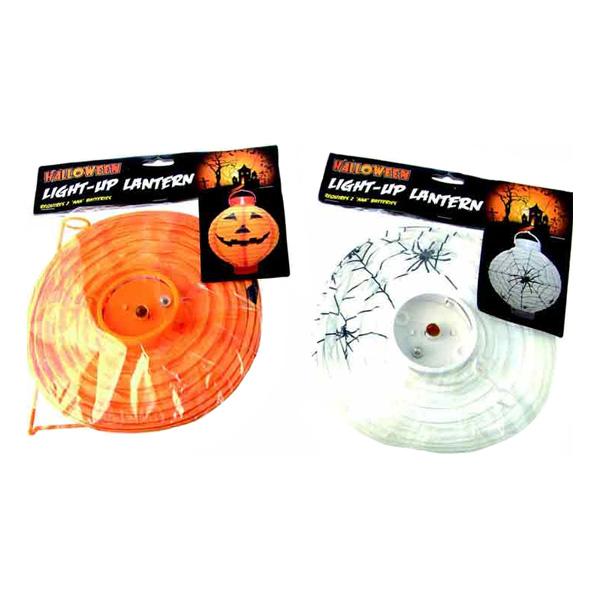 Lykta Halloween - Orange