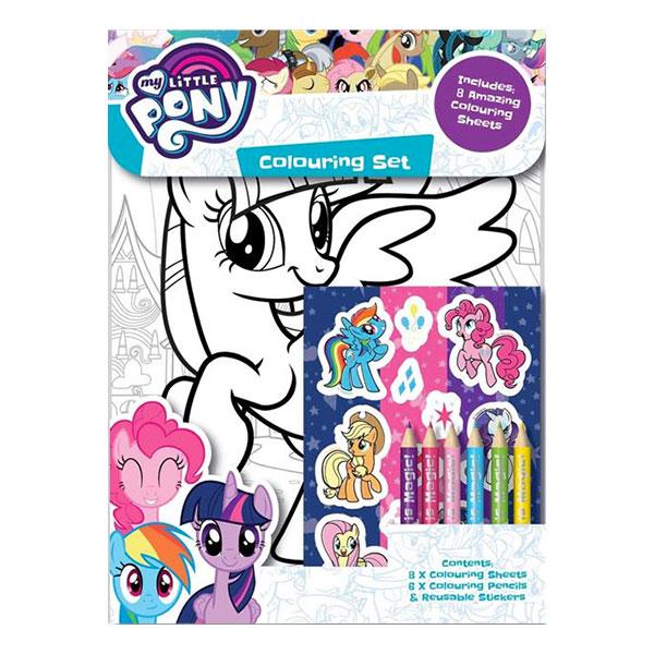 Målarset My Little Pony