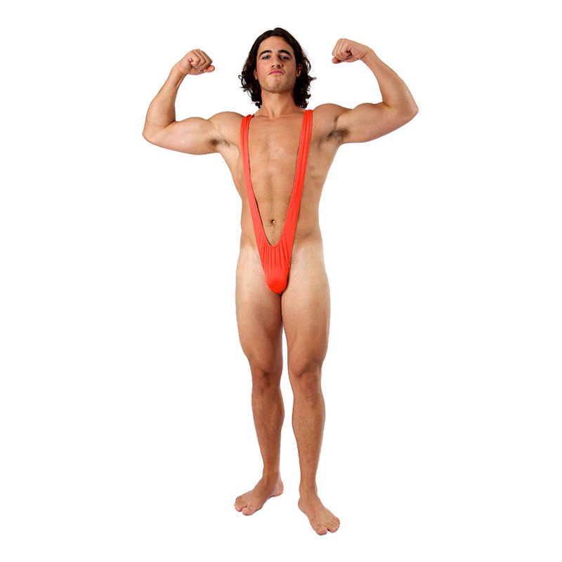 Mankini Röd - One size