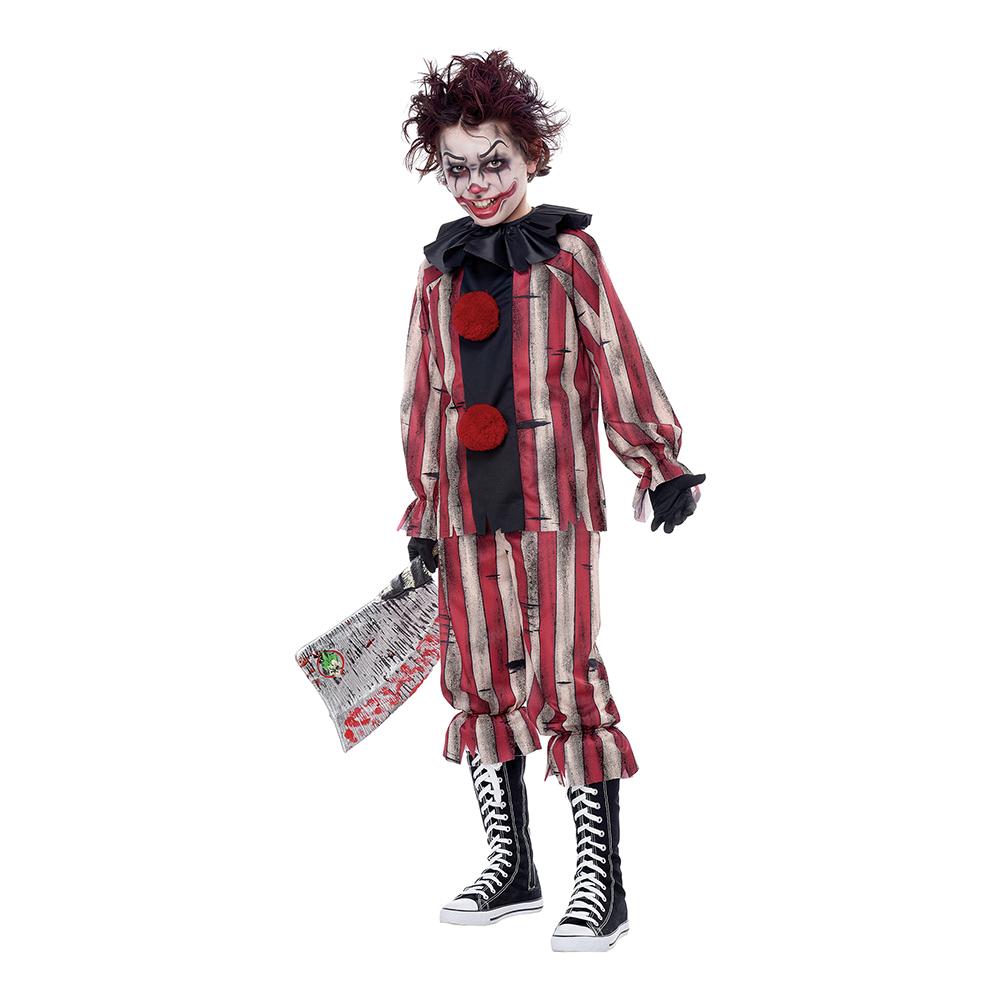 Marddröms Clown Barn Maskeraddräkt - Medium