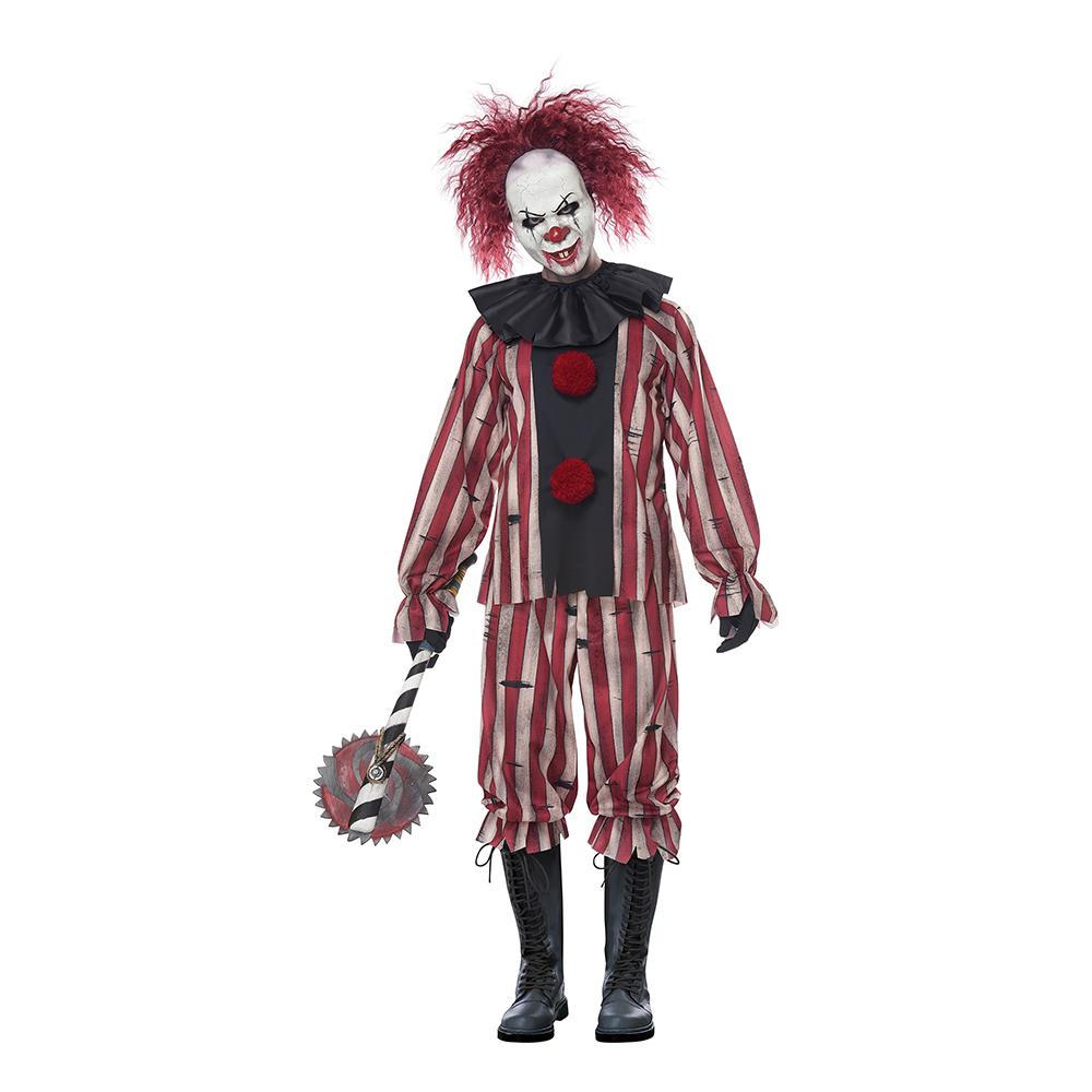 Mardröms Clown Maskeraddräkt - Medium