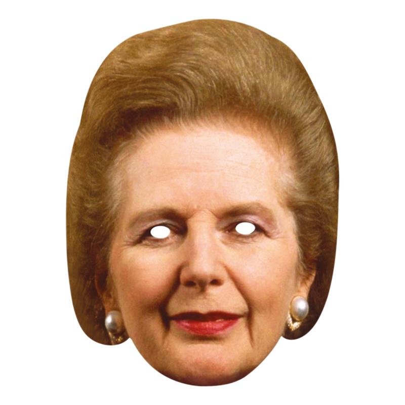 Margaret Thatcher Pappmask
