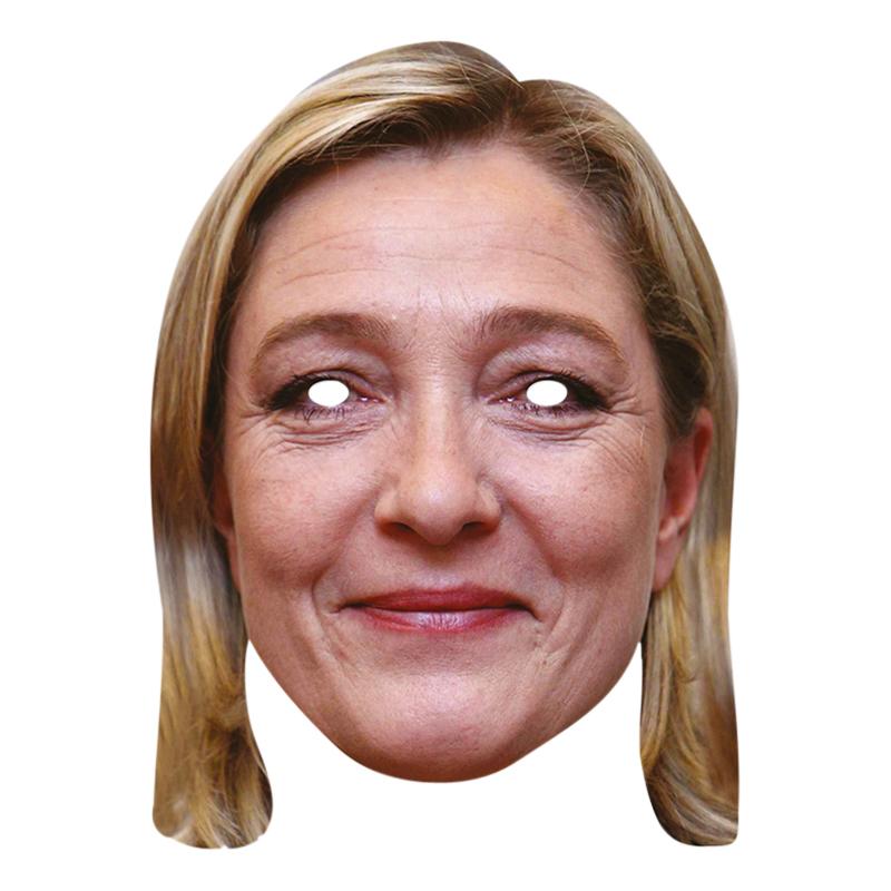 Marie Le Pen Pappmask