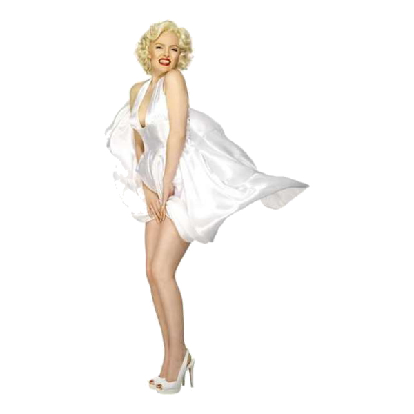 Marilyn Monroe Maskeraddräkt - Medium