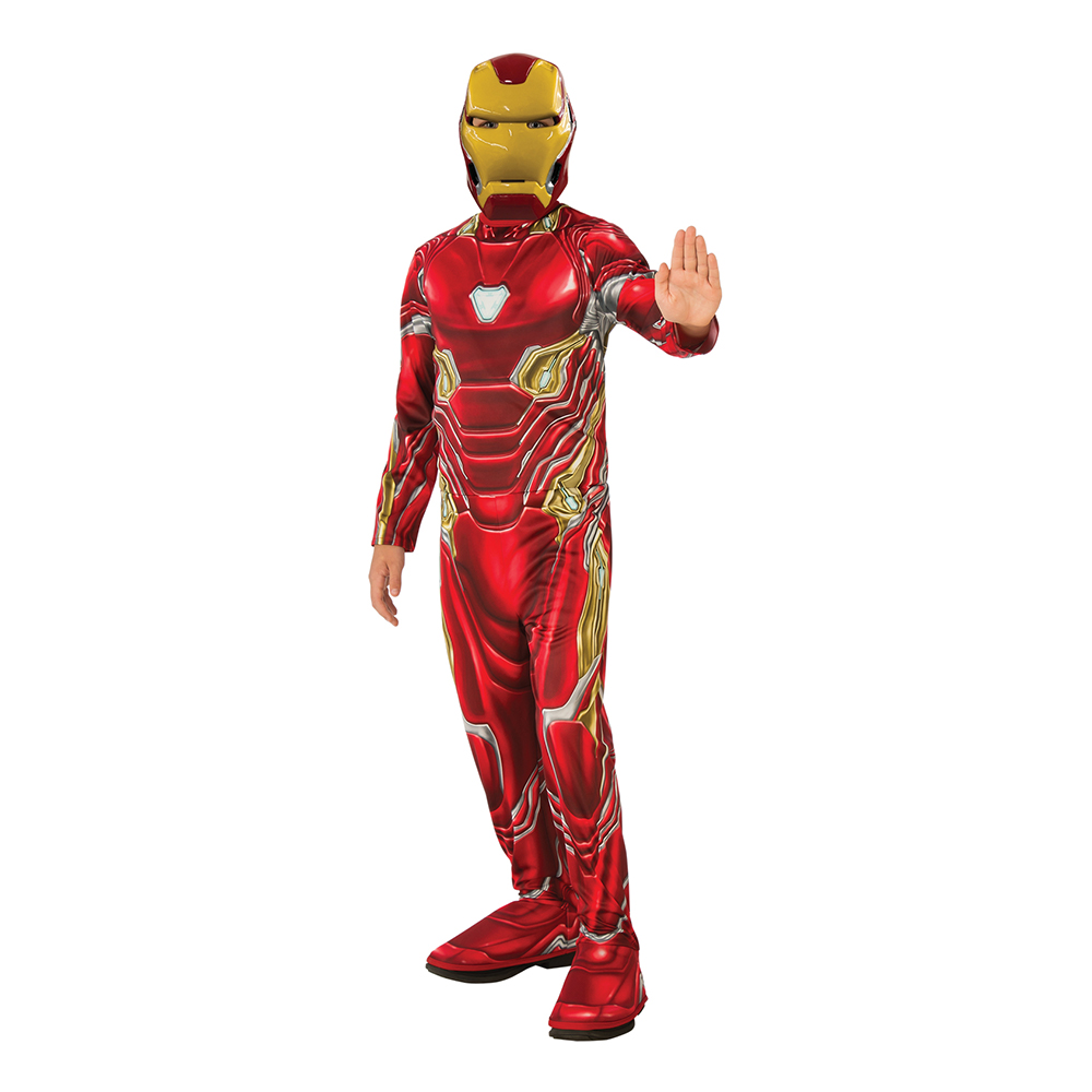 Marvel Endgame Iron Man Barn Maskeraddräkt - Small