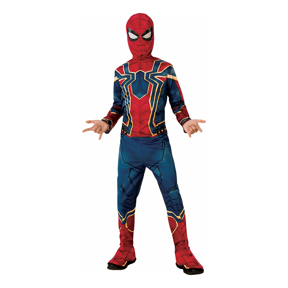 Marvel Endgame Iron Spider Barn Maskeraddräkt - Small