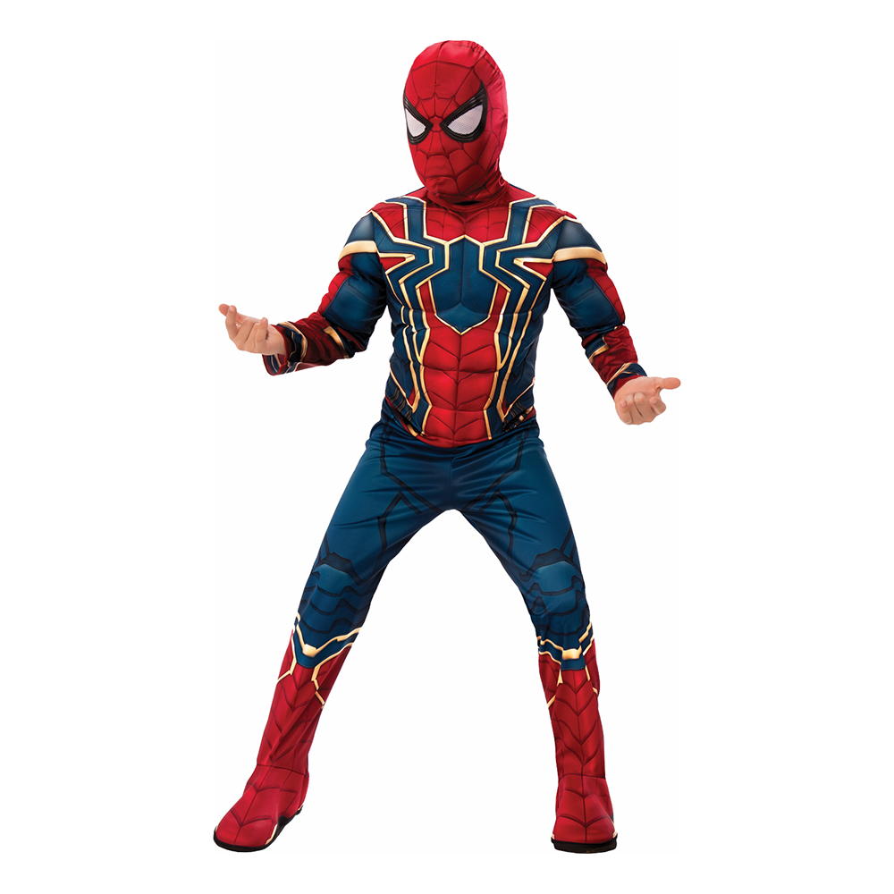 Marvel Endgame Iron Spider Deluxe Barn Maskeraddräkt - Small