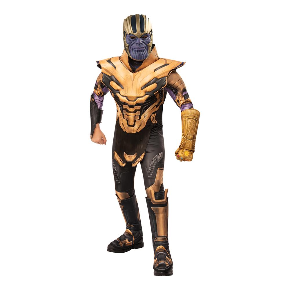 Marvel Endgame Thanos Deluxe Barn Maskeraddräkt - Small