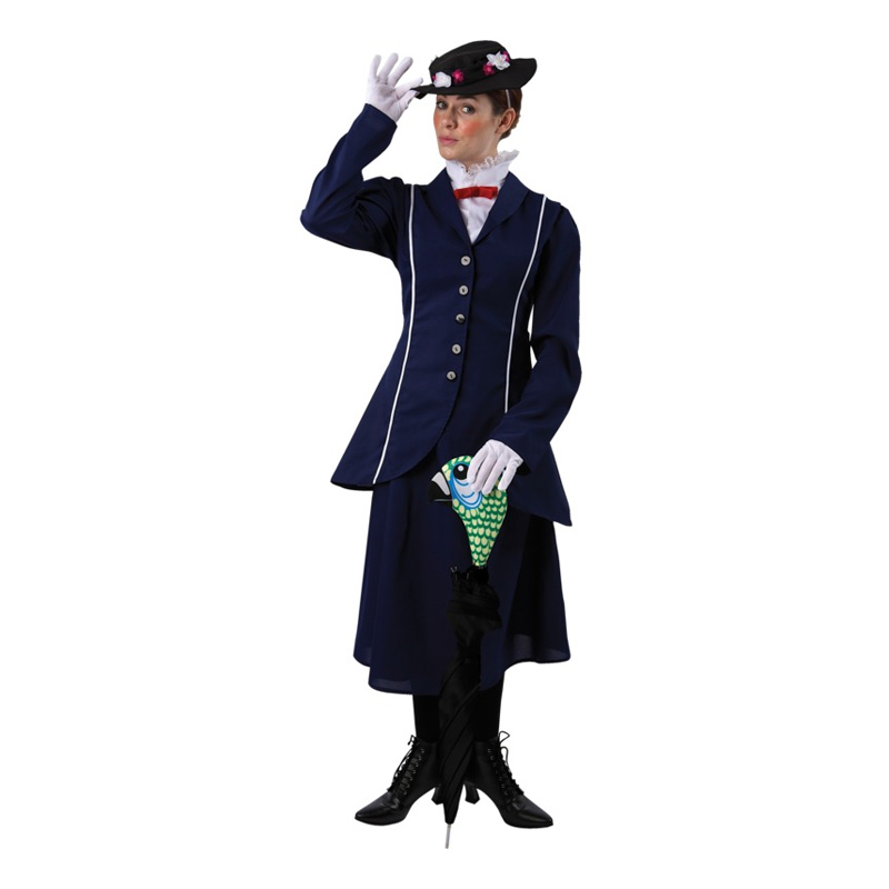 Mary Poppins Budget Maskeraddräkt - Small