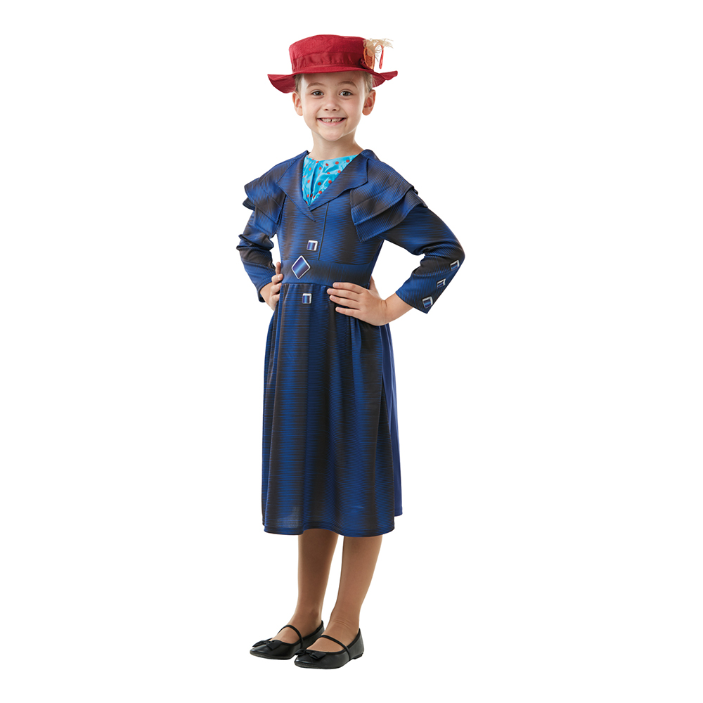 Mary Poppins Returns Barn Maskeraddräkt - Small