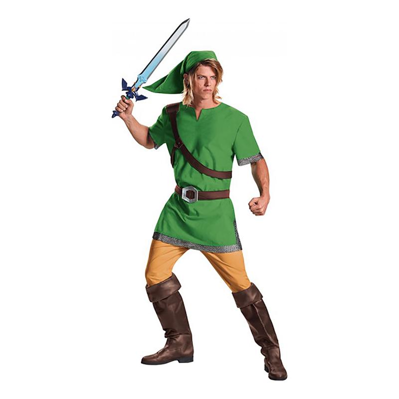 Zelda Link Deluxe Maskeraddräkt - One size