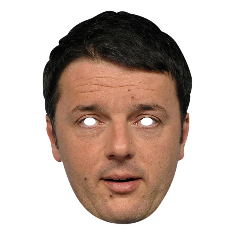 Matteo Renzi Pappmask
