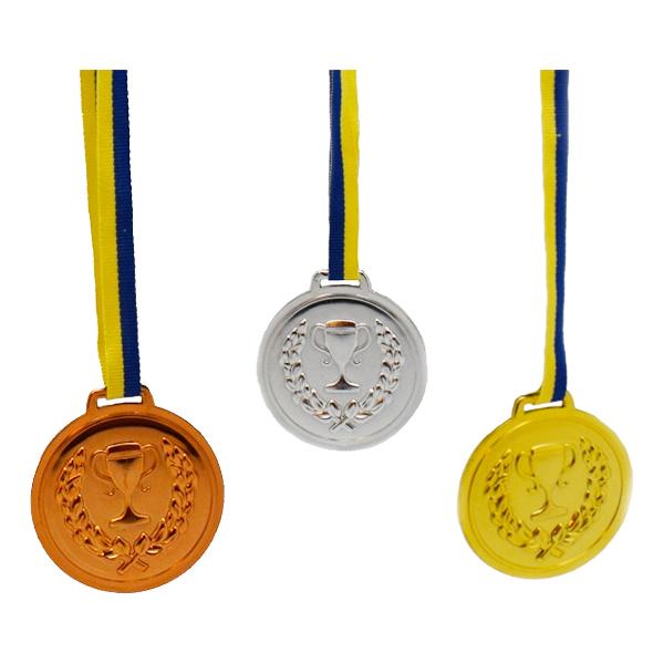 Medaljer Guld/Silver/Brons - 6-pack