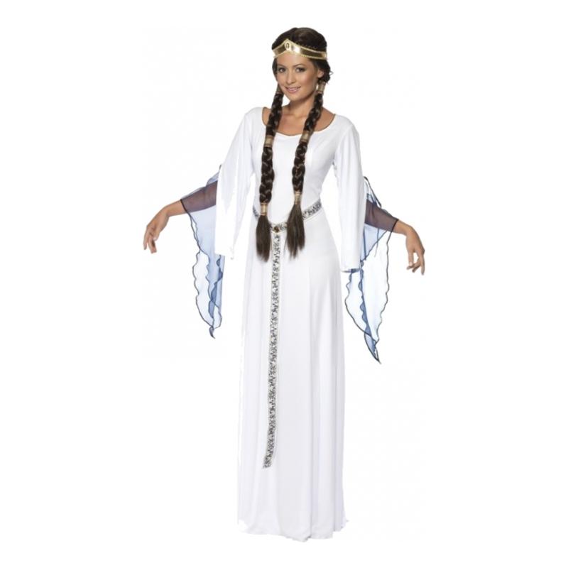 Medeltidskvinna Maskeraddräkt - One size