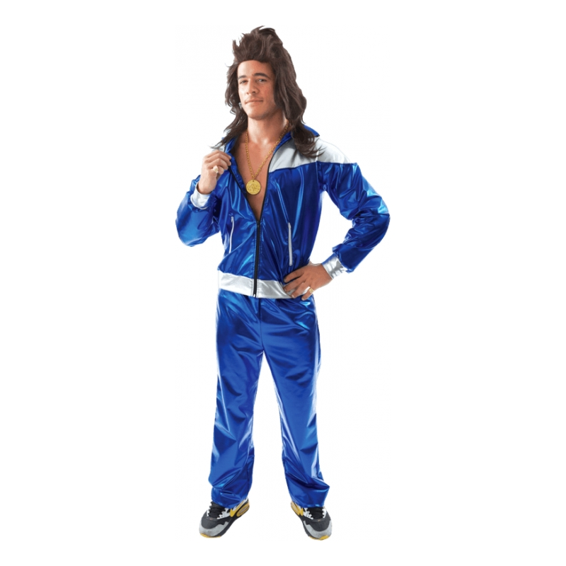 Men's Shell Suit Maskeraddräkt - Standard