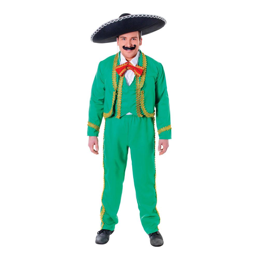 Mexikansk Man Maskeraddräkt - One size