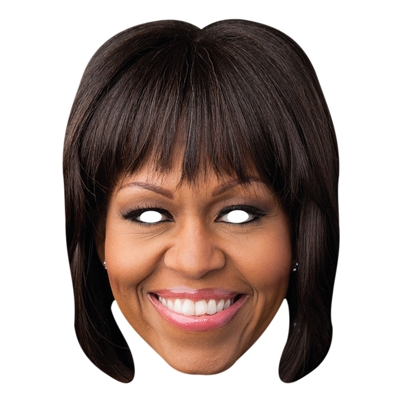 Michelle Obama Pappmask