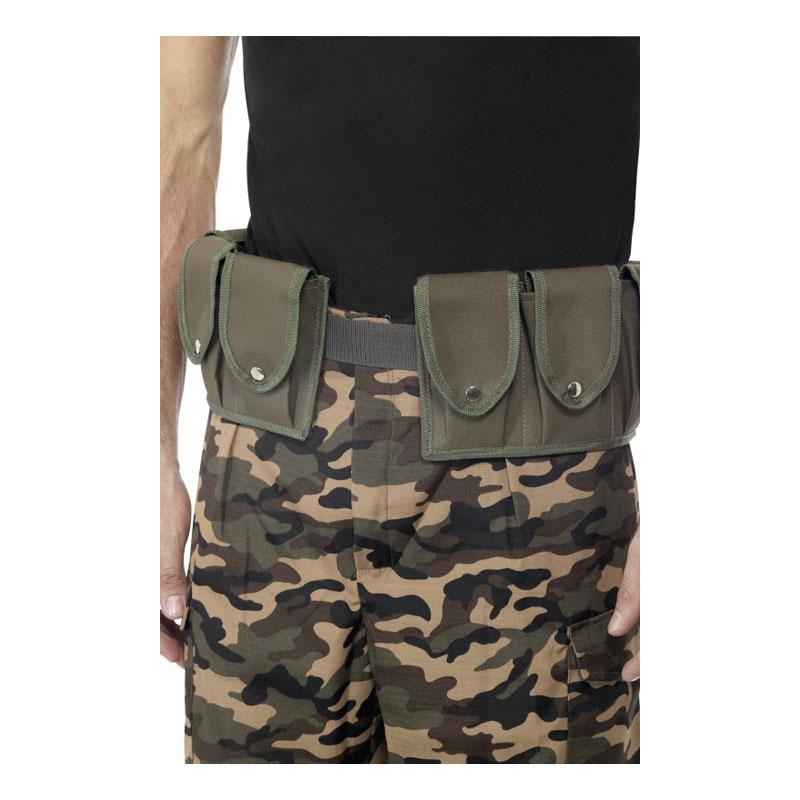 Militärbälte med Väskor
