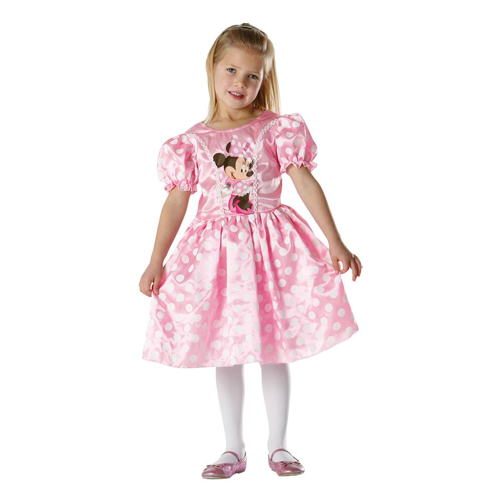 Mimmi Pigg Klassisk Rosa Barn Maskeraddräkt - Small
