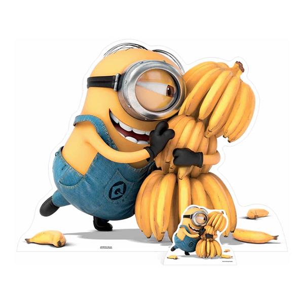 Minions Bananas Kartongfigur