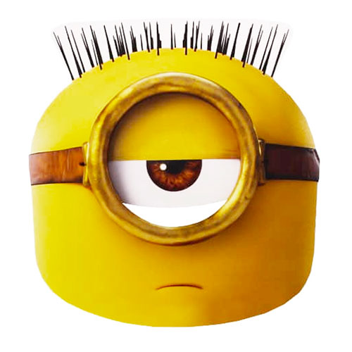 Minions Egyptian Pappmask - One size