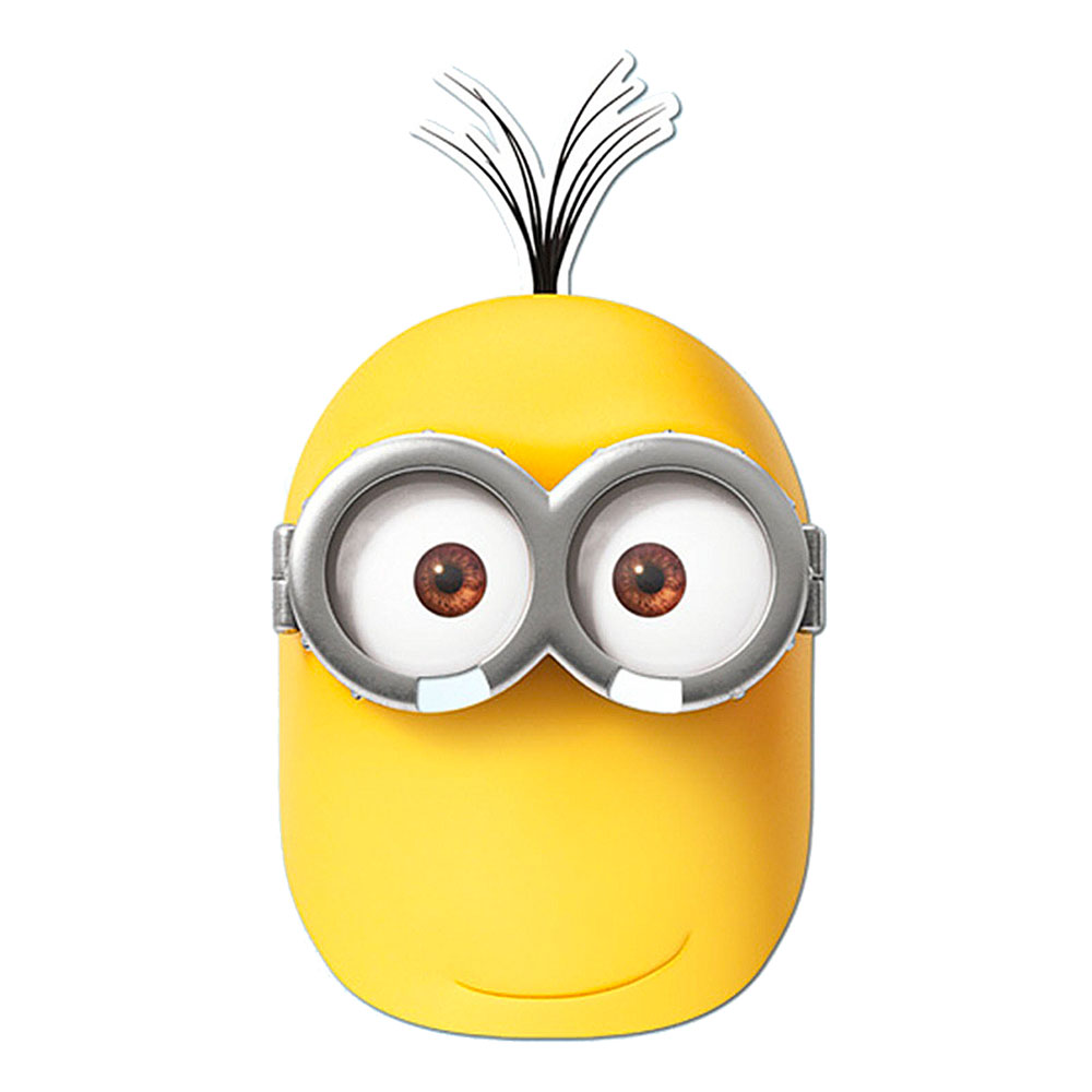 Minions Kevin Pappmask - One size