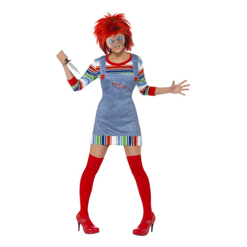 Miss Chucky Maskeraddräkt - Small