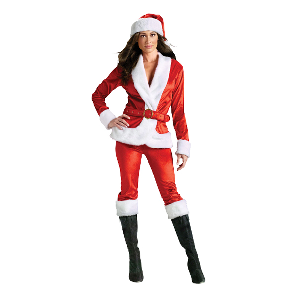 Miss Santa Maskeraddräkt - Medium/Large