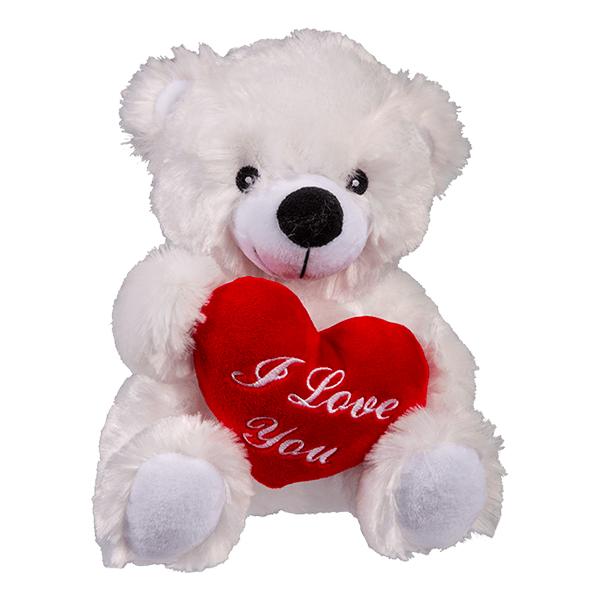 Mjukisdjur Nallebjörn med Hjärta